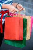 Regalo y presente de las compras el San Esteban Fotografía de archivo libre de regalías