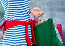 Regalo y presente de las compras el San Esteban Imagen de archivo