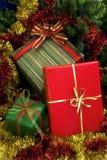 Regalos 2 de la Navidad Imagenes de archivo