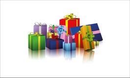 Regalos Imagen de archivo libre de regalías