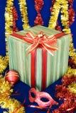 Regalos 4 de la Navidad Imagenes de archivo