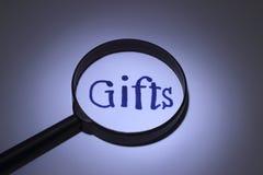 Regalos Foto de archivo libre de regalías