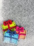 Regalos coloridos Fotografía de archivo