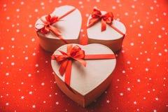 Regalos con amor Fotos de archivo libres de regalías