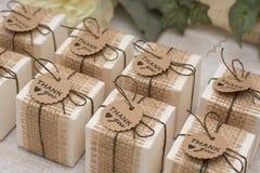 Regalos de boda para la huésped Fotos de archivo