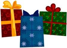 Regalos de día de fiesta Imagen de archivo libre de regalías