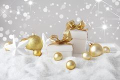 Regalos de la Navidad imagen de archivo libre de regalías