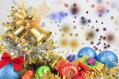 Regalos de la Navidad. Fotografía de archivo