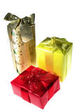 Regalos de la Navidad Foto de archivo libre de regalías
