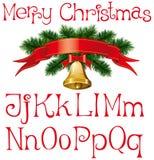 Regalos de la Navidad con el calcetín Fotografía de archivo libre de regalías