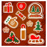 Regalos de la Navidad de ciervos Imagen de archivo libre de regalías