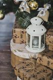 Regalos de la Navidad debajo del árbol 4615 Imagen de archivo libre de regalías