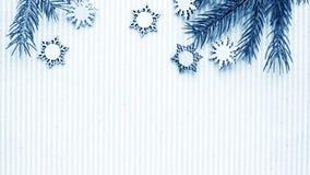 Regalos de la Navidad y regalos para el día de fiesta Ramas y d Spruce Fotos de archivo libres de regalías
