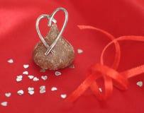 Regalos de la tarjeta del día de San Valentín imágenes de archivo libres de regalías