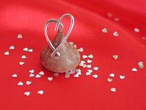 Regalos de la tarjeta del día de San Valentín foto de archivo libre de regalías