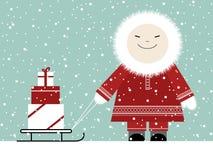 Regalos de Navidad libre illustration