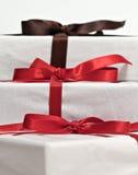 Regalos de Navidad. Imágenes de archivo libres de regalías