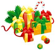 Regalos de Navidad Imagen de archivo