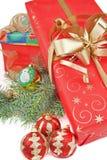 Regalos de Navidad Fotografía de archivo