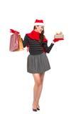 Regalos de Navidad Imágenes de archivo libres de regalías