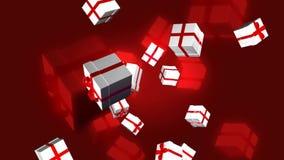 Regalos de Navidad del vuelo libre illustration