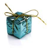 Regalos de Navidad hermosos aislados en el fondo blanco Imagen de archivo libre de regalías