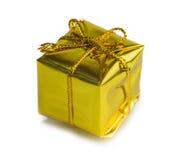 Regalos de Navidad hermosos aislados en el fondo blanco Foto de archivo libre de regalías