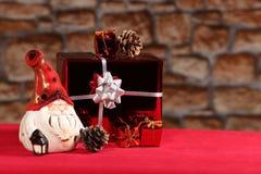 Regalos de Santas Imagen de archivo libre de regalías