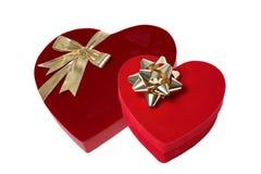 Regalos del día de tarjetas del día de San Valentín Imágenes de archivo libres de regalías