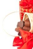 Regalos del dulce del día de tarjeta del día de San Valentín Imagen de archivo libre de regalías