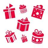 Regalos del vector Imágenes de archivo libres de regalías