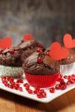 Regalos dulces del amor Fotos de archivo