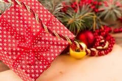 Regalos muy esperados de la Navidad Imagen de archivo libre de regalías