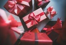 Regalos para el día de fiesta Fotos de archivo libres de regalías