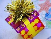 Regalos para la estación de día de fiesta Imágenes de archivo libres de regalías