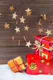 Regalos para la Navidad Imagen de archivo