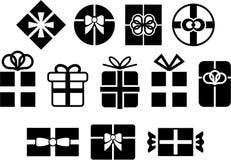 Regalos vectorizados Foto de archivo libre de regalías