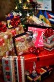 Regalos y presentes Fotografía de archivo libre de regalías