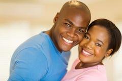 Regard africain de couples Photographie stock libre de droits