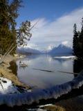 Regard aux montagnes Photographie stock libre de droits