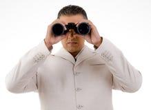 regard binoche d'homme d'affaires Photo stock
