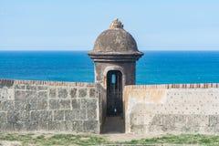 Regard d'EL Murro de citadelle  image libre de droits