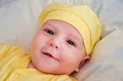 Regard de bébé garçon Image stock
