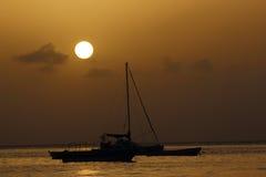Regard de l'horizon Photo libre de droits
