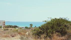 Regard de la mer Photo libre de droits