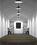 Vieux quartier cellulaire de prison Photographie stock libre de droits