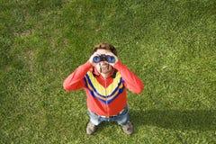 Regard haut Photographie stock libre de droits