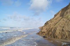 Regard le long des dunes Photographie stock libre de droits