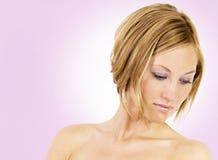 Regard normal de skincare Photo libre de droits