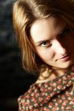 Regard passionné Photographie stock libre de droits